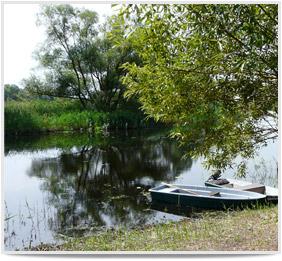 Unsere Ferienwohnung im Havelland - Bootsausflug