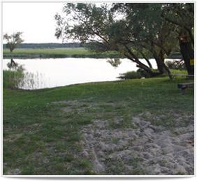 Unsere Ferienwohnung im Havelland - Naturbadestrand